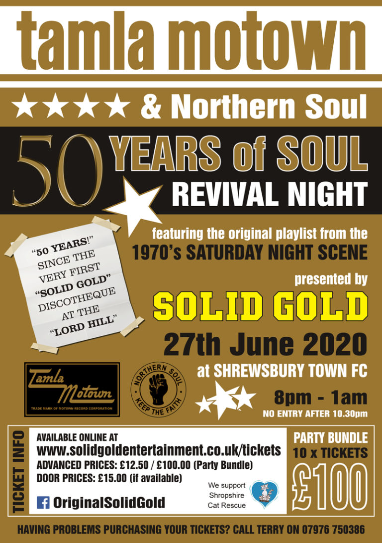 50 Years of Soul @ STFC