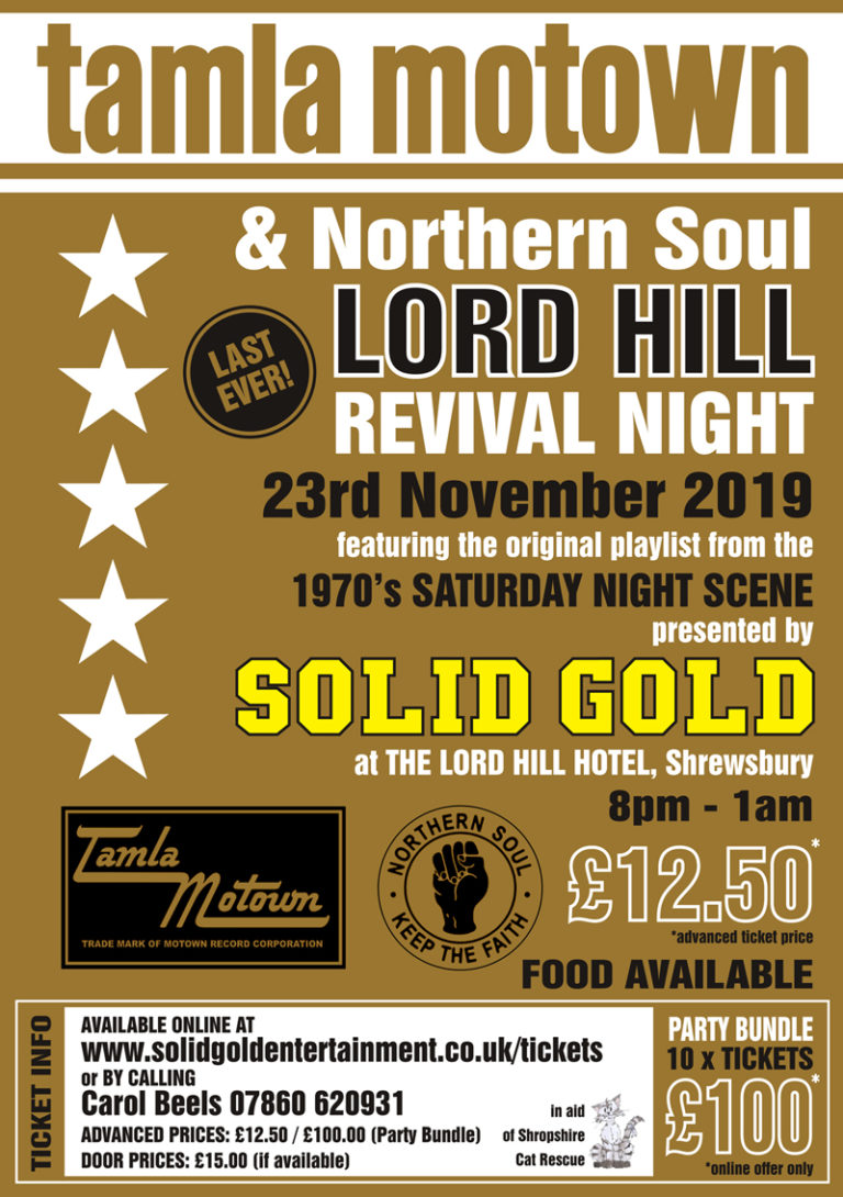 Lord Hill Revival Night